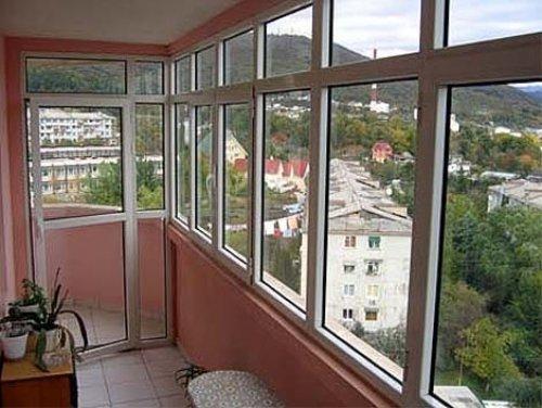 Этапы остекления балкона