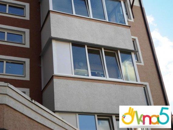 Застеклить балкон – разные способы обустройства