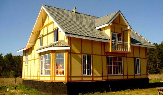 Преимущества каркасно-щитовых домов