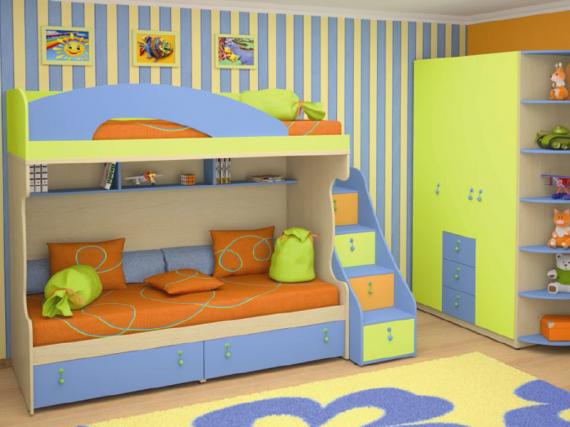 Мебель для детской должна быть качественной