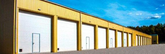 Отличительные особенности промышленных секционных ворот