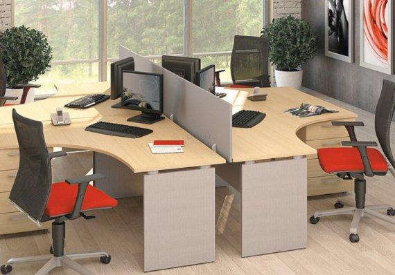 Виды современной офисной мебели