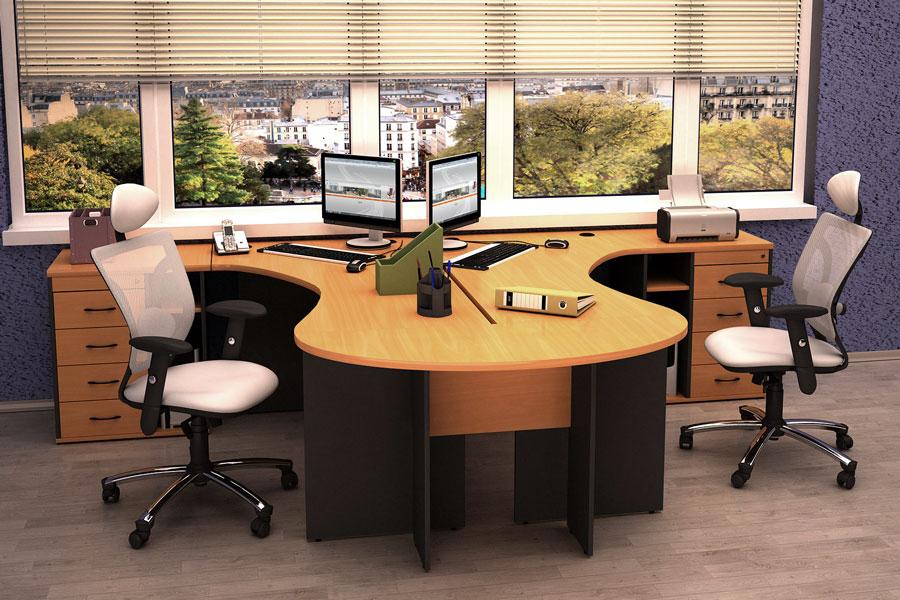 Модульная офисная мебель от Ламелио