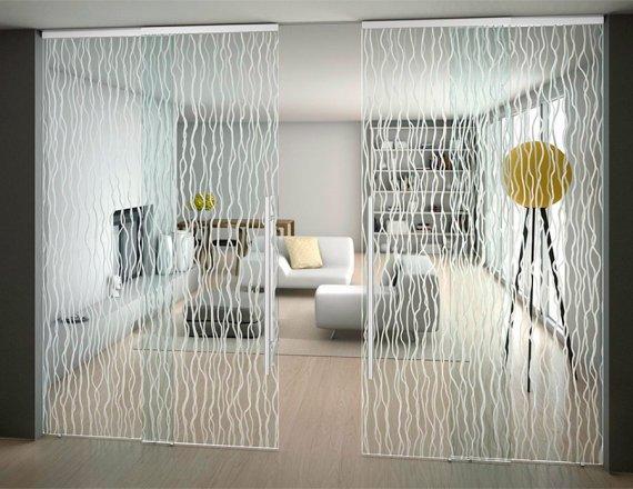 Какие бывают виды стеклянных дверей?