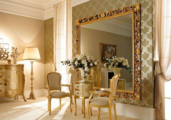 Зеркало в багете на заказ, куда не стоит вешать зеркало по Фен Шуй?