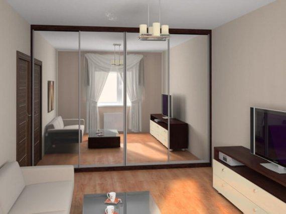 Куда лучше поставить шкаф-купе в квартире?