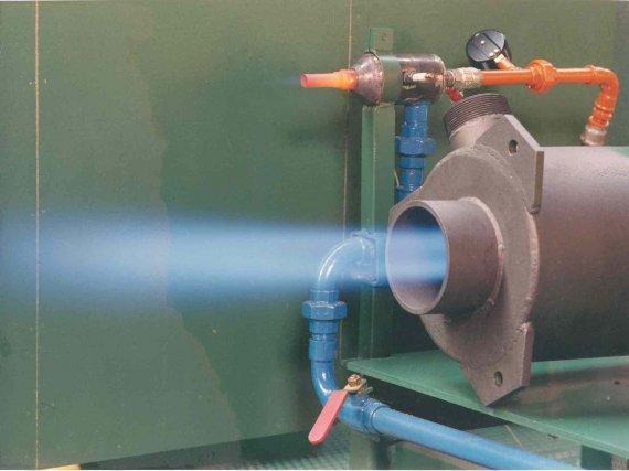 Принцип работы газовых горелок