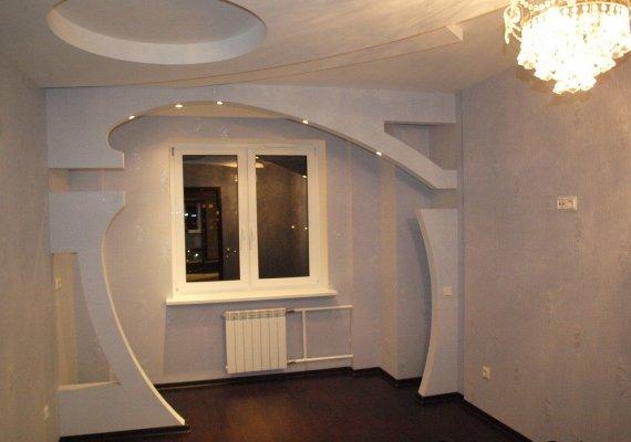 Применение гипсокартона в ремонте квартиры