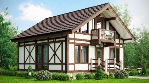 Дом в стиле фахверк: технология строительства