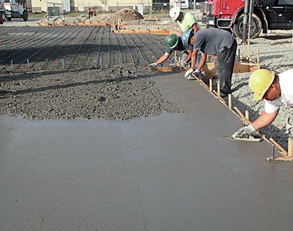 Сферы применения бетона