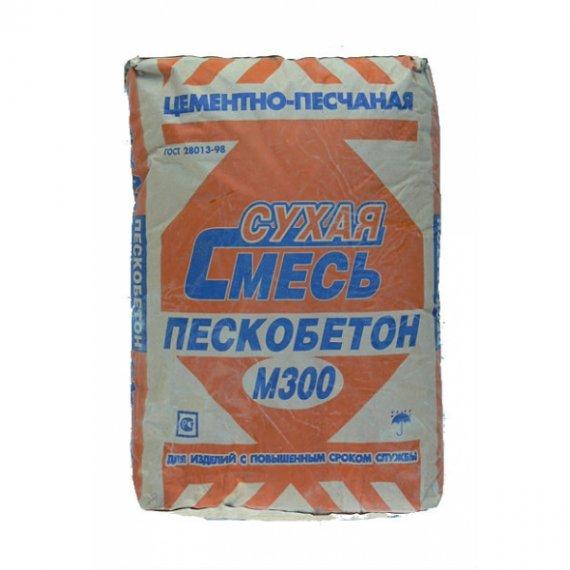 Область применения пескобетона марки М30
