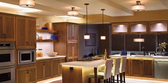 Создаем комфортное освещение в кухне